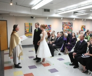 Banko room wedding ceremony